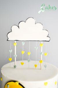 Raining Hearts Baby Shower Cake-1288